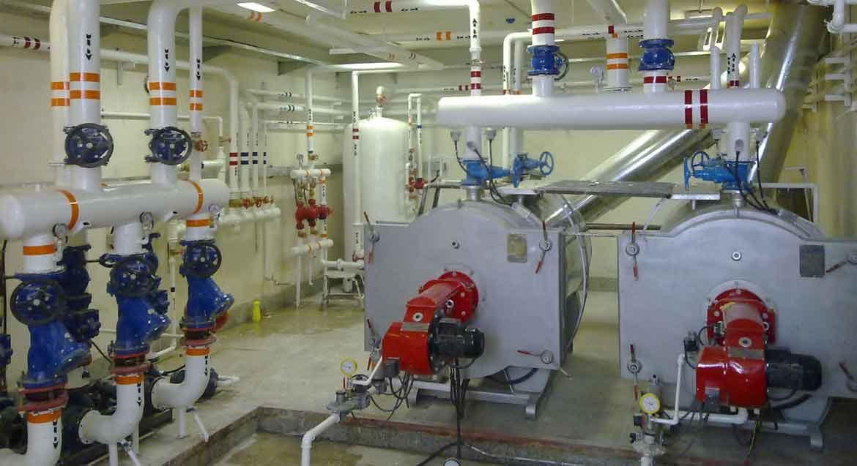 سرویس و تعمیرات موتور خانه و تاسیسات وابسته در شمال تهران