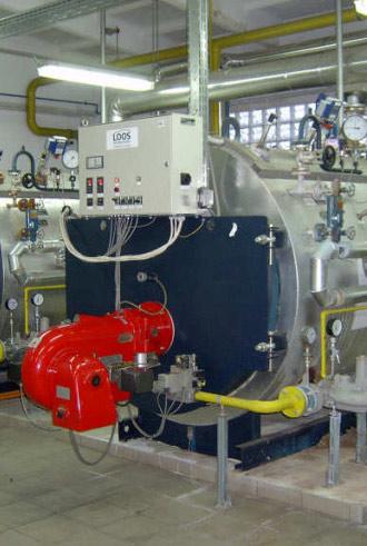 خدمات تاسیسات گرمایشی و موتورخانه ساختمان
