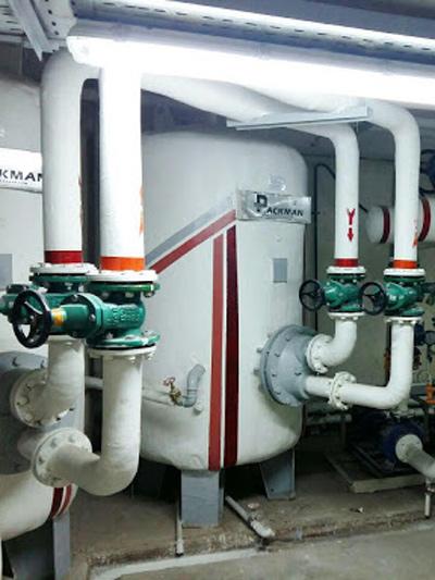 تاسیسات موتور خانه ساختمان ها در ولنجک