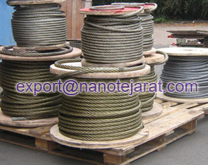 export steel wire rope from Iran to Turkmenistan
