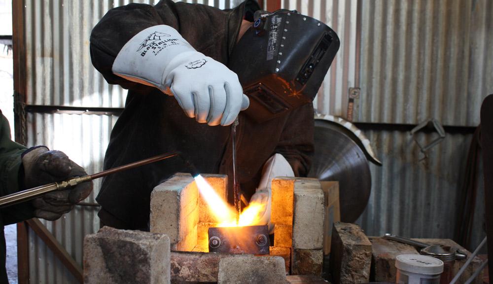 استفاده از الکترود فولادی بجای الکترود چدن