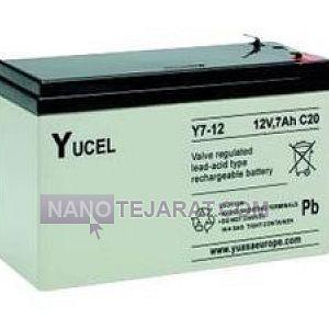 باتری سیلد لید اسید Y7-12