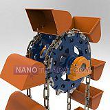 زنجیر الواتور فولادی