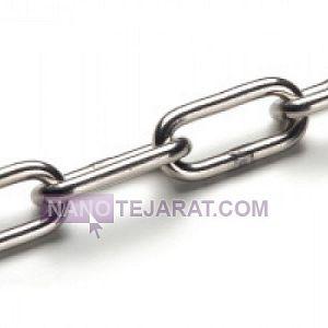 زنجیر صنعتی استیل دانه بلند DIN763