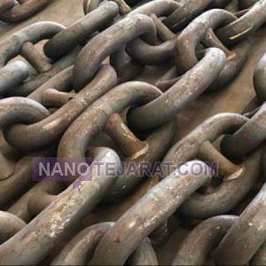 زنجیر لنگر گالوانیزه