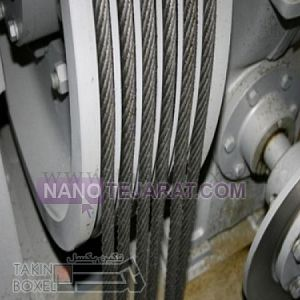 elevator wire rope with fiber core