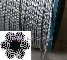 19*6 wire rope