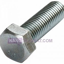 Galvanized Bolt and Nut