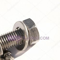 Stainless steel bolt and nut