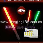 Led Flashing Light Stick With Remote Control