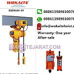 Electric chain hoist with1 ton