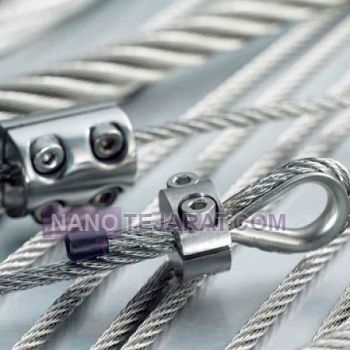 Steel wire rope connections