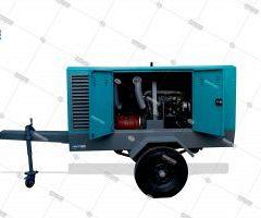 کمپرسور دیزلی چرخدار مونتاژ داخلی | کمپرسور معدنی
