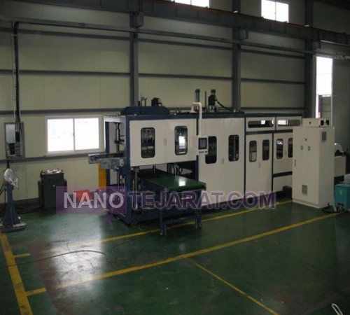 Disposable container production machinery